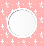 Round frame Stock Photography