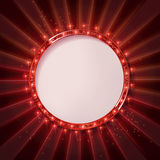 Round frame cinema Royalty Free Stock Photography