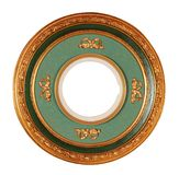 Round frame with clipping path. Round antique frame with clipping path Royalty Free Stock Photography