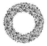 Round frame of patterns Stock Images