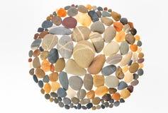 Round Frame Stones Stock Image