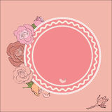 Round frame for text Royalty Free Stock Photography