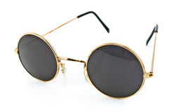 Round framed retro sunglasses Stock Image