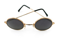 Round framed retro sunglasses Royalty Free Stock Photography