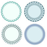Round frames Royalty Free Stock Photos