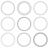 Round Frames Royalty Free Stock Image