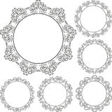 Round frames Royalty Free Stock Photography