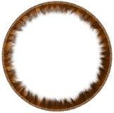 Round fur framework Royalty Free Stock Image