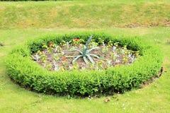 Round garden Royalty Free Stock Photo