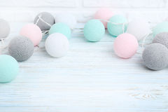 Round garland Stock Images