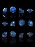 Round gemstone Stock Photo