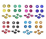 Round gemstone Stock Image