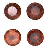 Round Gemstone isolated Stock Images