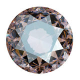 Round Gemstone isolated Royalty Free Stock Photography