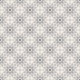 Round Geometric Linear Seamless Pattern. Round Linear Seamless Pattern with vintage decorative geometric elements. Modern monochrome geometric background Stock Photography