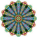 Round geometrical ornament Royalty Free Stock Photos