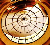 Round glass roof Royalty Free Stock Image