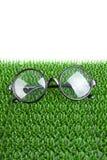 Round glasses Stock Photos