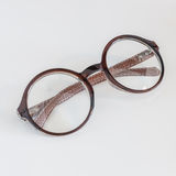 Round glasses on white Stock Photography