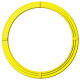 Round Golden Frame Royalty Free Stock Photography