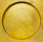 Round golden texture Royalty Free Stock Images