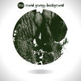 Round grunge background Royalty Free Stock Images