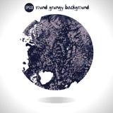 Round grunge background Stock Images