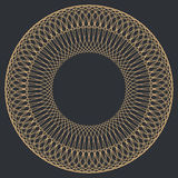 Round Guilloche Pattern Royalty Free Stock Photos