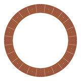 Round guitar fretboard  illustration Royalty Free Stock Images