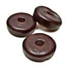 Round Gummy Candies Stock Photo
