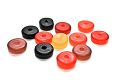 Round Gummy Candies Stock Photos