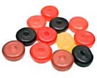 Round Gummy Candies Stock Images
