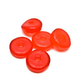Round Gummy Candies royalty free stock image