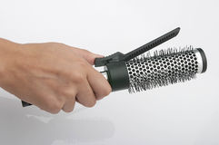 Round Hair Brush Stock Photography
