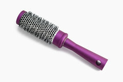 Round hair brush Royalty Free Stock Image