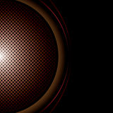 Round halftone background Royalty Free Stock Photo