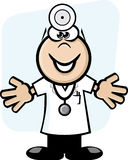 Round head doctor Stock Image