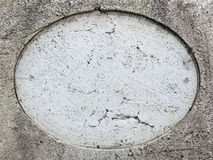 Round hole on stone Royalty Free Stock Images