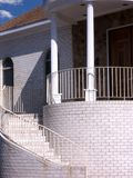 Round House. Close up of the front of the house Stock Images