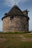 Round house. On Christianso, Denmark Stock Photography