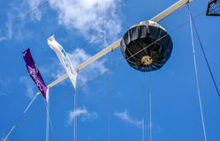 The Round House Flag Array Segment: Fremantle, Western Australia Stock Photos