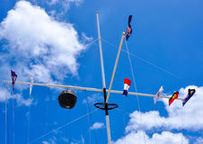 The Round House, Fremantle: Flag Array Royalty Free Stock Photos
