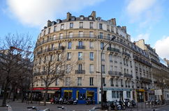 Round house in Paris Royalty Free Stock Photography