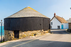 Round House at Sennen Cove Royalty Free Stock Images