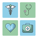 Round icon health. Vector illustration design graphic vector illustration