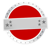 Round Icon Stars Borders Royalty Free Stock Images