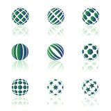 Round icons Royalty Free Stock Image
