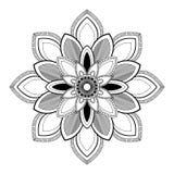 Round Indiański Ornament/mandala element dekoracyjny Obraz Royalty Free