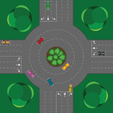 Round intersection Stock Images