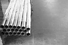 Round iron tube Royalty Free Stock Photo
